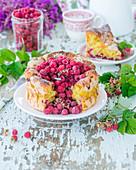 Himbeer-Vanille-Kuchen