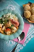 Moqueca (fish stew, Brazil)