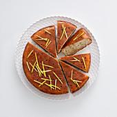 Eifreier Zitronenkuchen mit Buchweizenmehl