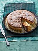 Crostata di nocciole (hazelnut tart, Italy)