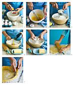 Preparing tarte