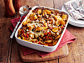 Pasta Bake with minced meat