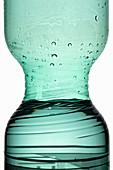 A PET water bottle