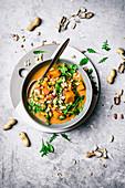 Vegan African Peanut Pumpkin Soup