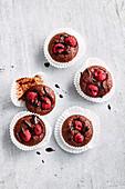 Gluten-free choc-raspberry bites