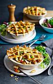 Chicken Mushroom Pie