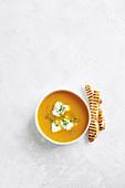 Quick carrot soup
