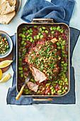 6-hour slow-roasted italian-style lamb