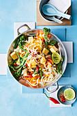 Healthier vegetarian pad thai