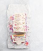 Easy rainbow funfetti cheesecake