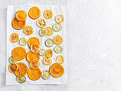 Candied citrus fruits
