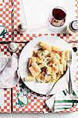 Pasta carbonara (Italy)