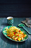 Chinese sweet-sour chicken