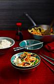 Buddhas Delight (vegetarisches Wokgericht, China)
