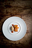 Pear Tatin with Ginger Ice Cream