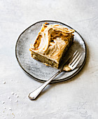 Banana butterscotch cake