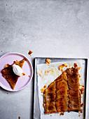 Squished apple tart