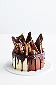 Tim tam honeycomb cake (Australia)