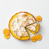 Mandrin orange meringue pie