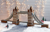 Tower Bridge aus Lebkuchenteig