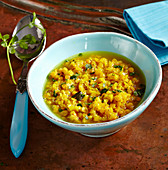 Masoor Dal - stew with red lentils (India)