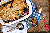 Gluten-free berry cobbler