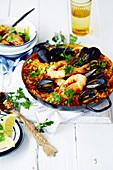 Seafood Risoni Paella