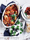 Spanish Chicken and Chorizo Stew