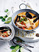 Seafood Chu Chee Curry