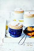 Mandarin and Chai Souffles