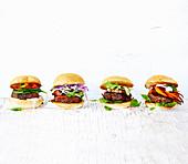 Four ways of Hamburgers
