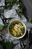 Fennel salad with dill