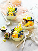Tropical Yoghurt Cups