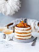 Orange Tiramisu Cake