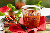 A jar of classic bolognese sauce
