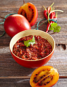 Aji (tamarillo sauce with chilli, Latin America)