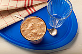 Mocha protein shake
