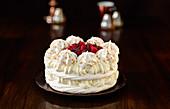 Raspberry Pavlova Cream