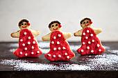 Flamenco dancer biscuits