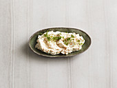 Salmon and cream cheese spread (low carb)