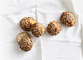 Chia and quark rolls (low carb)