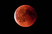 Total lunar eclipse, 27 July 2018, Germany