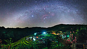 Milky Way over Kaihua, China