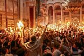 Jerusalem, Holy light ceremony