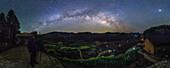 Milky Way over Kaihua, China