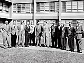 Von Braun and ABMA rocket scientists, 1950s