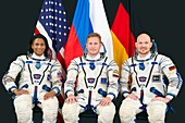 ISS astronauts, backup crew for Expedition 54-55
