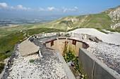 Old gun emplacement, Golan Heights