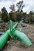 Irrigation pipe, Israel