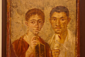 Husband and wife portrait from Pompeii